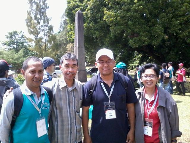 Dengan Pak Nidas, Pak Seno(Direktur Boschaa) dan Ibu Clara (Sainsa LAPAN)